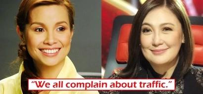 Ba't kailangan i-bash? Lea Salonga finds ridiculous the bashing Sharon Cuneta gets for complaining about MNL traffic