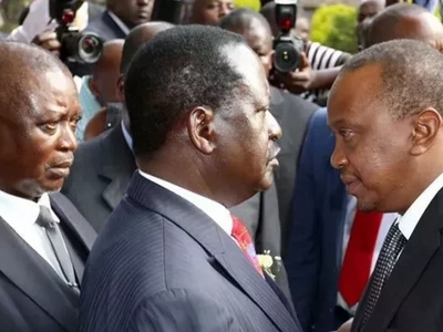 Uhuru's family is behind the theft of KSh 5 billion from the ministry of health - Raila Odinga