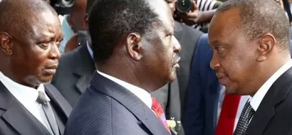 Uhuru and Raila openly defy Maasai elders' order at Ntimama funeral