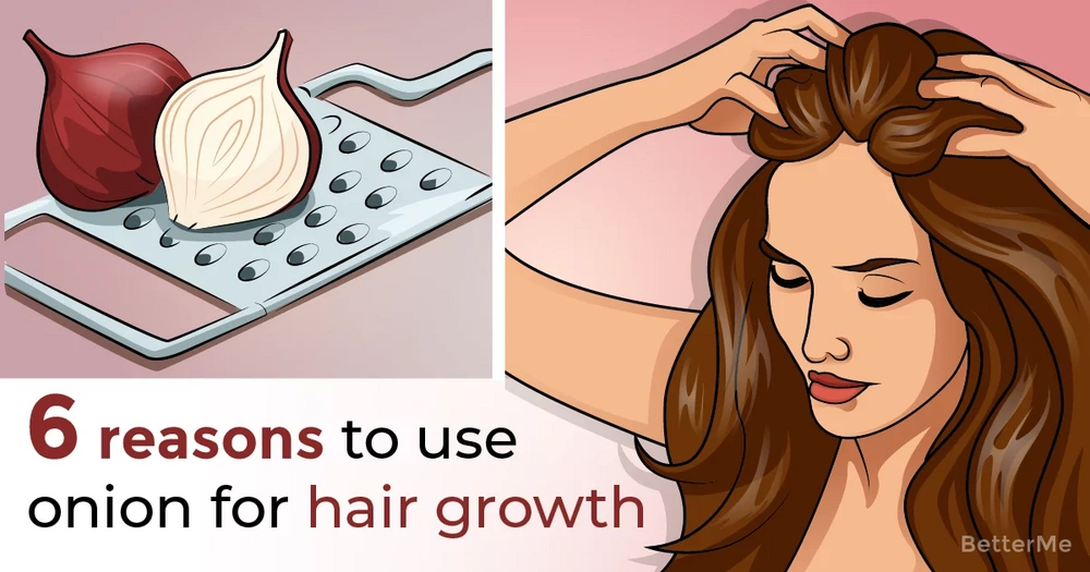 6 reasons to use onion for hair growth and 3 ways to do so
