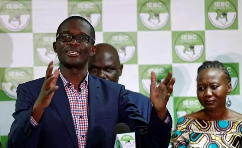 I'm not aware of their resignation - Chebukati speaks after 3 IEBC commissioners resign
