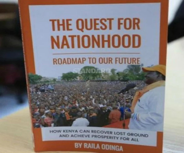 Raila Odinga to launch his new tell-all book soon