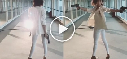Erich Gonzales proves that she's got what it takes to slay as an action star