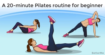 A 20-minute pilates routine for beginner and seasoned practitioners alike