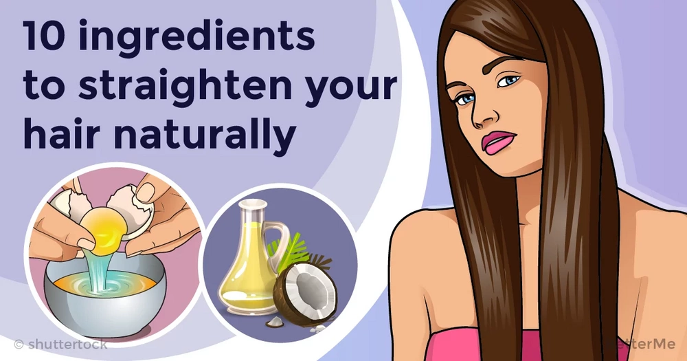10 ingredients that can help straighten your hair naturally