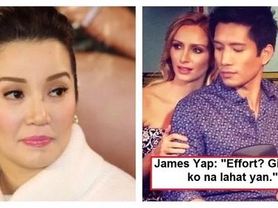 Bumanat din siya! James Yap responds to netizens who asked him if he is really a neglectful father to Bimby Aquino-Yap!