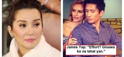Bumanat din siya! James Yap responds to netizens who asked him if he is really a neglectful father to Bimby Aquino-Yap!