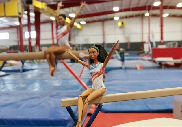 Gabby is a gold medal-winning Olympic gymnast