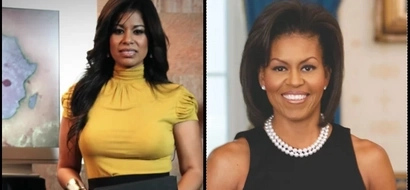 Celebrated media personality, Julie Gichuru, gets a beating after claiming she resembles Michelle Obama