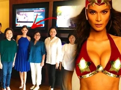 Could the meeting between Pia and ABS-CBN executives mean that she's doing Darna?