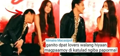Maasim ba? Netizens are going crazy over video of Daniel Padilla smelling Kathryn Bernardo's armpit during press con! Watch it here!