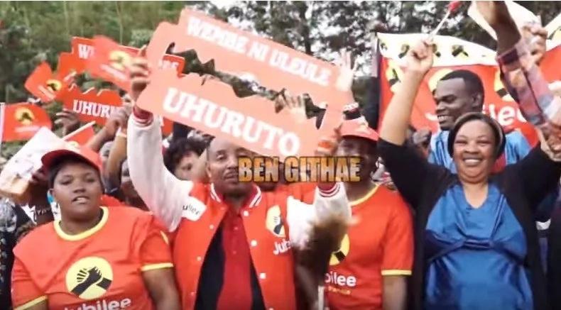 Ben Githae releases pro-Uhuru song 'Wembe Ni Ule Ule' ahead of repeat poll