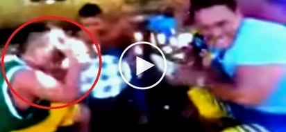 Naughty Pinoy pulls off cruel prank on unsuspecting boy during Christmas party