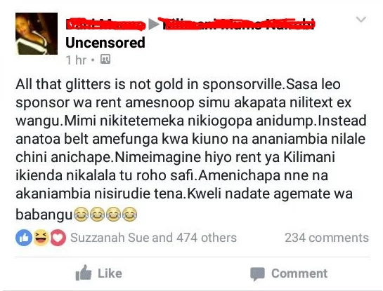 Nairobi lady allows a sponsor to beat her up not to miss rent