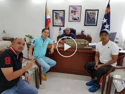 Sumunod na tayo! Cesar Montano accompanies friend Epy Quizon to drug test at PNP