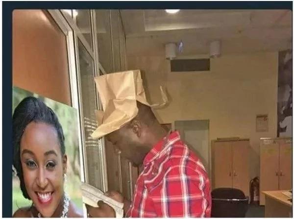 Ripota wa NTV Dennis Okari akipatapata baada ya kumkejeli Raila odinga