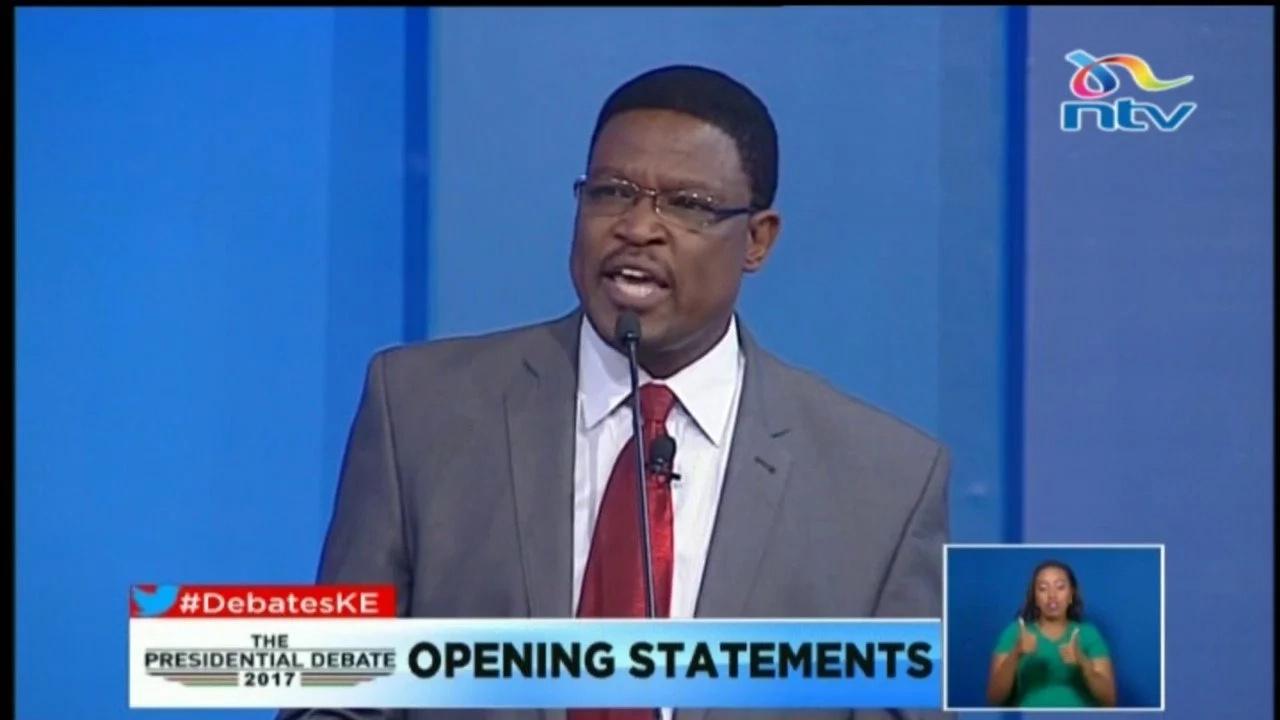 Mgombea wa kibinafsi Japhet Kaluyu akubali kushindwa huku Raila akipinga vikali matokeo