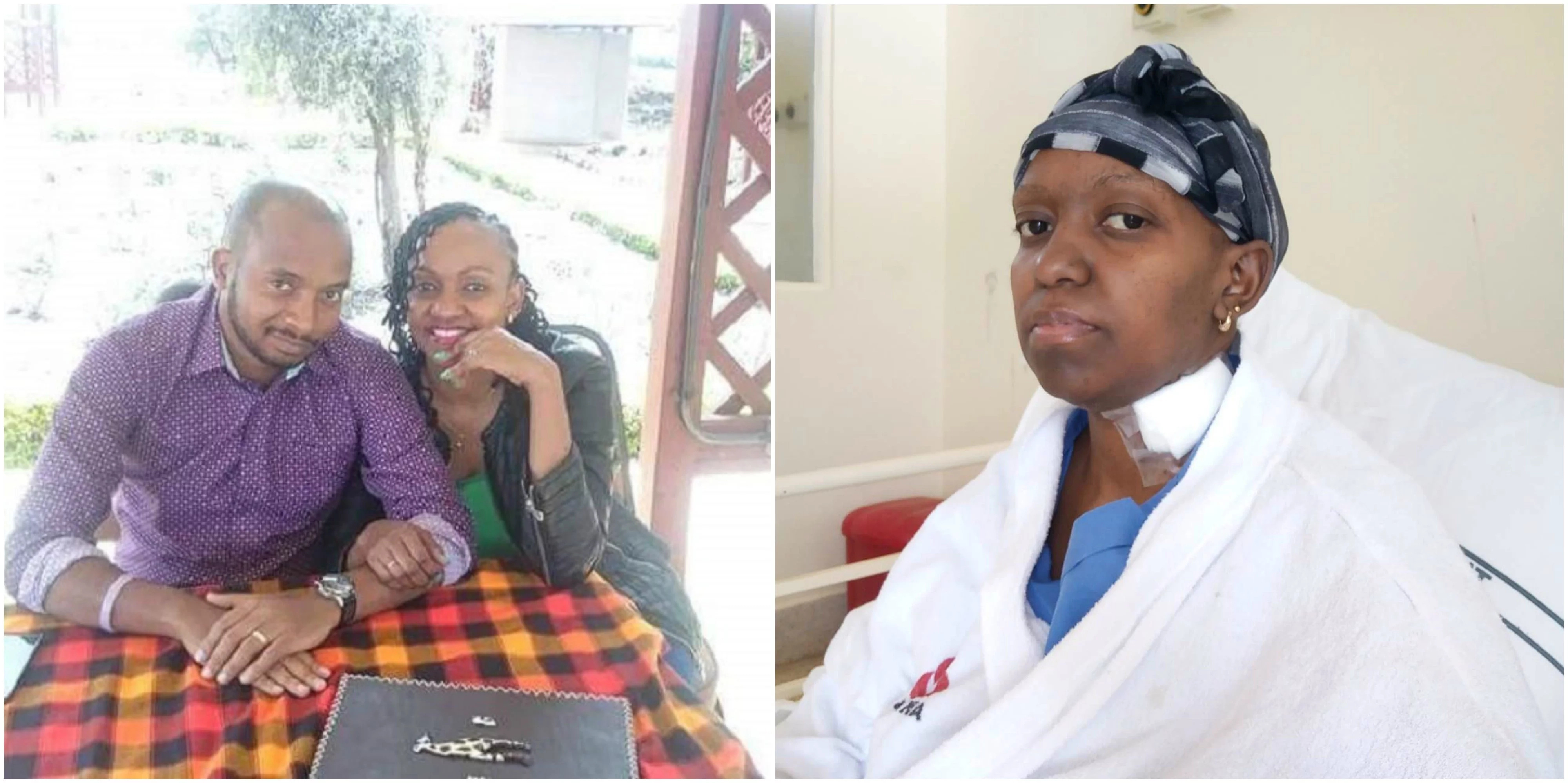 Heartbroken father of two pleads for N25m help as wife undergoes chemo