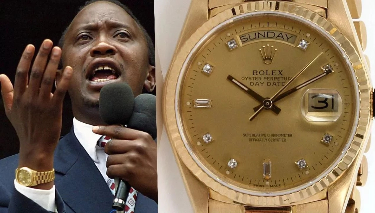 Rais Uhuru Kenyatta alitumia Ksh 13 milioni kununua saa!
