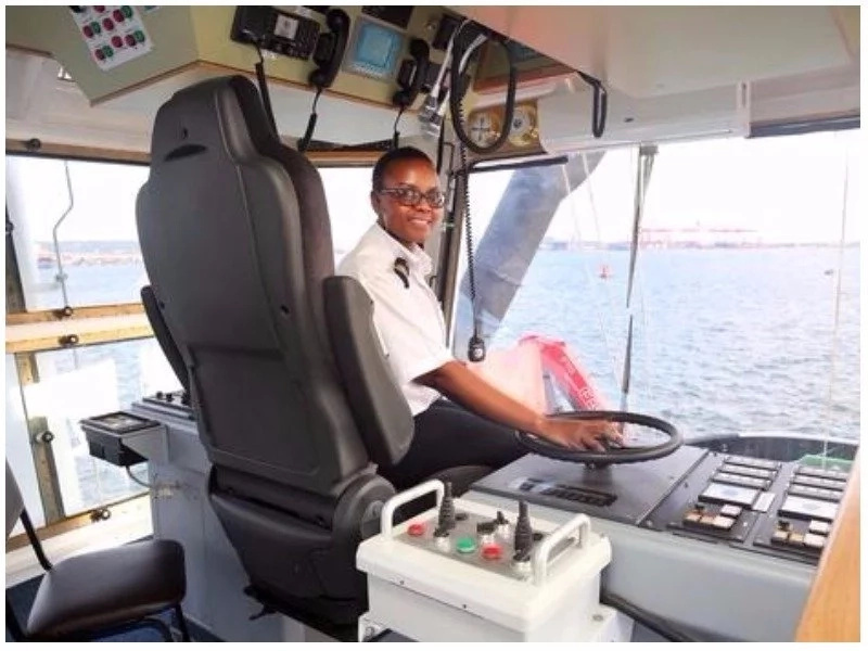Meet 31-year-old first woman tug master in control of the most powerful tug in Durban harbor