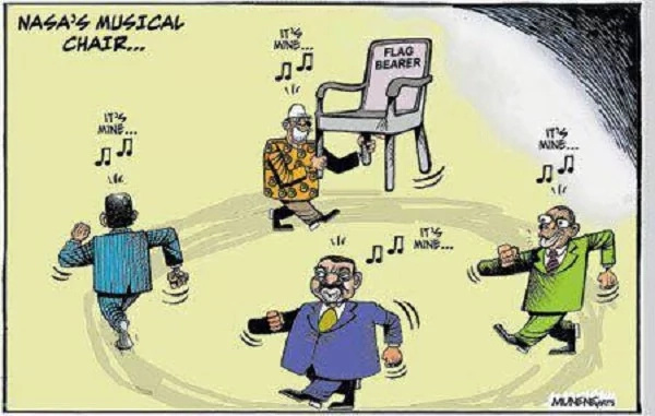 Cartoon reveals who will be NASA's candidate