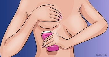 Once you've read this, you'll apply deodorant under your breasts right away.