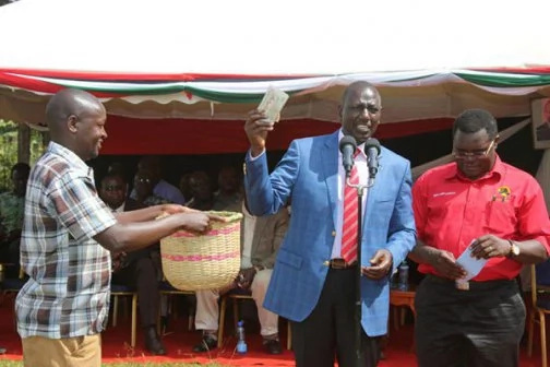 DP Ruto yet again gives out KSh18M in just two days