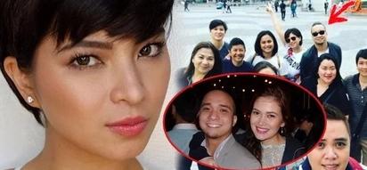 Sila na? Angel Locsin seen together with Bela Padilla's ex-boyfriend during Holy Week
