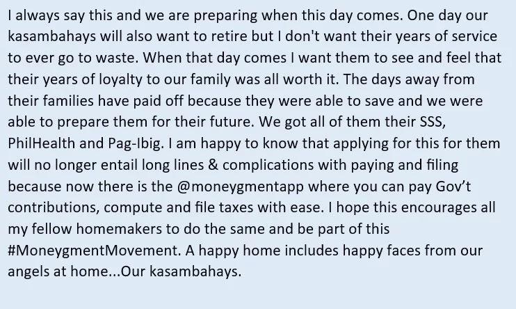 Sana lahat daw ng amo kagaya niya! Netizens applaud Chesca Garcia on how they treat their 'kasambahays'