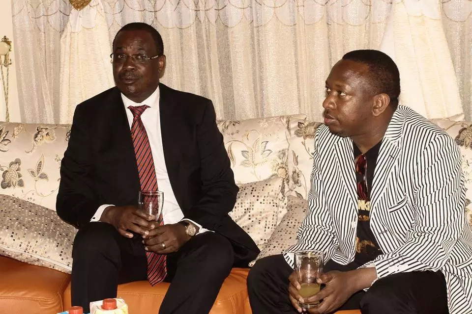 Mike Sonko and Evans Kidero engaged fiercely on social media