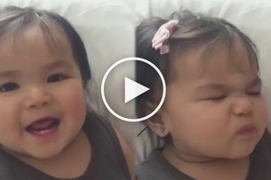 Jusko, sobrang cute! John Prats and Isabel Oli's baby girl performs the most charming 'beautiful eyes'