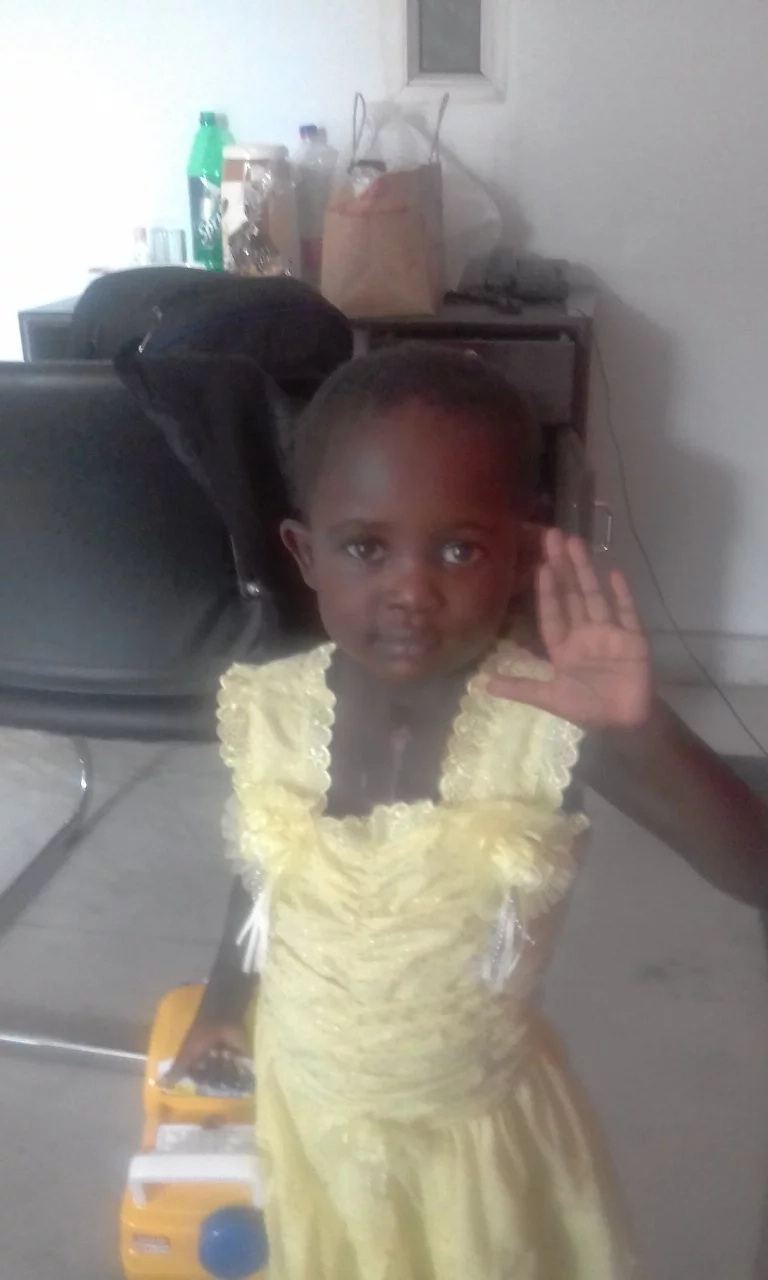 Good and bad news; Emily Adongo, the little girl with a hole in her heart is back from India but it is not over yet