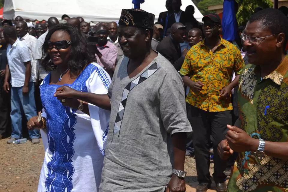 Uhuru and Margaret Kenyatta vs Raila and Ida Odinga happy moments, which couple won?