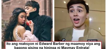 Hindi ba kinaya? Edward Barber's epic and hilarious reaction to Maymay Entrata's two-hour sleep breath