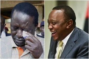 Why Raila Odinga MUST be envious of Uhuru's Facebook page