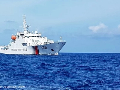 Nagsilayas na! Chinese Coast Guard no longer present in Scarborough Shoal