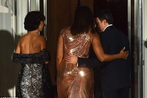 First Lady Michelle Obama's DRESS that has left every woman in Kenya speechless