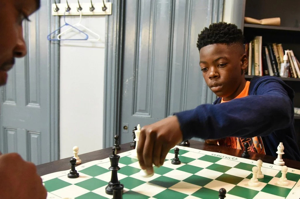 Cahree Myrick became his city's first ever national youth chess champion