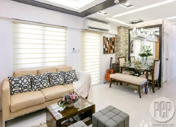 Yasmien Kurdi's 3-bedroom modern contemporary condo, perfect for her, baby Ayesha, and pilot hubby