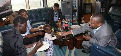 PHOTOS: Sonko Adopts Baby Girl, Gives Her Mother A Job