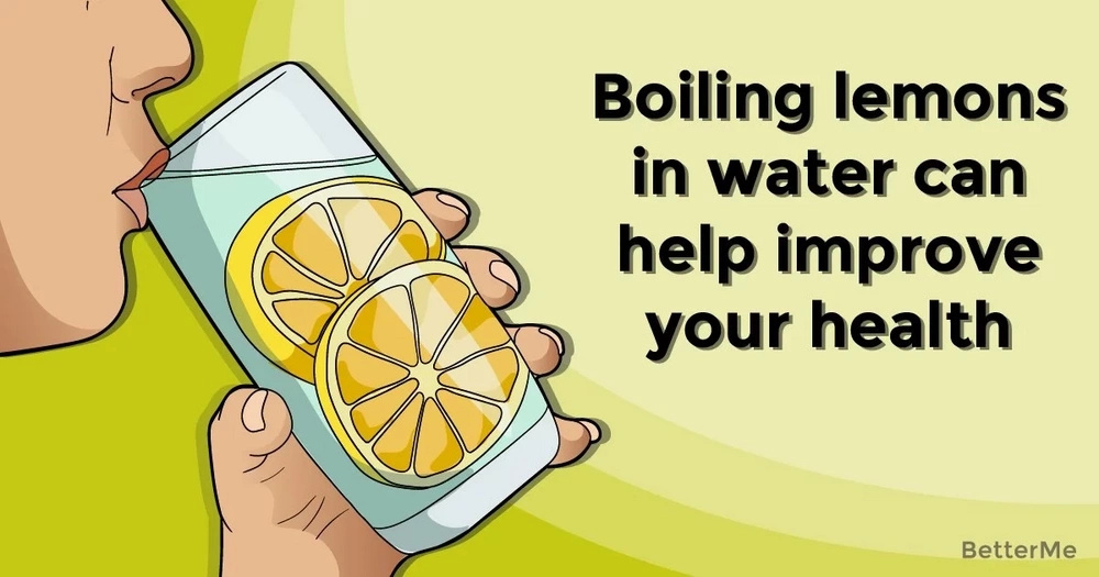 Boiling lemons in water can help improve your health