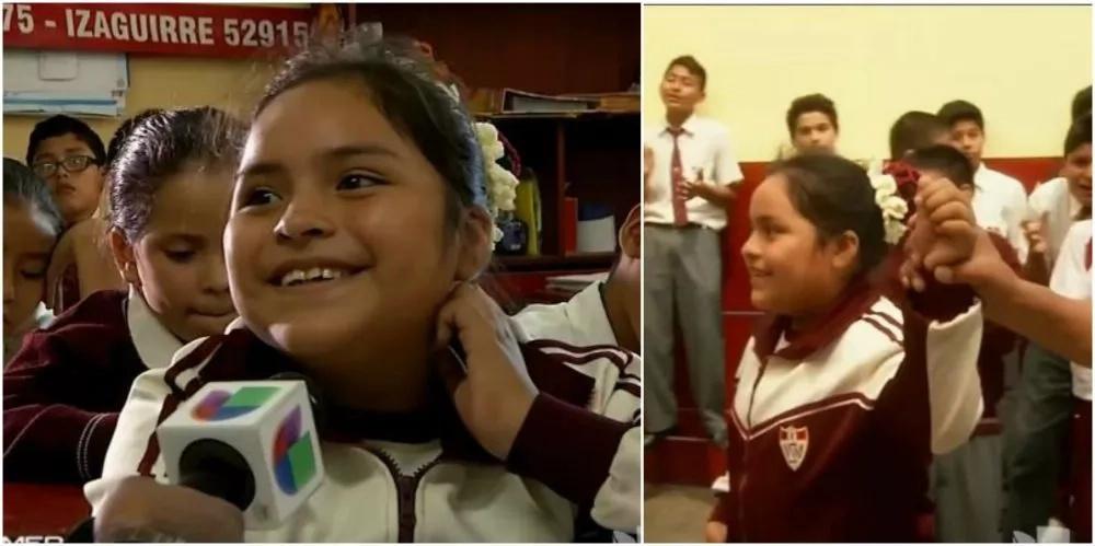La niña más inteligente del mundo vive en perú y sin haber terminado la escuela ya fue admitida a la Universidad