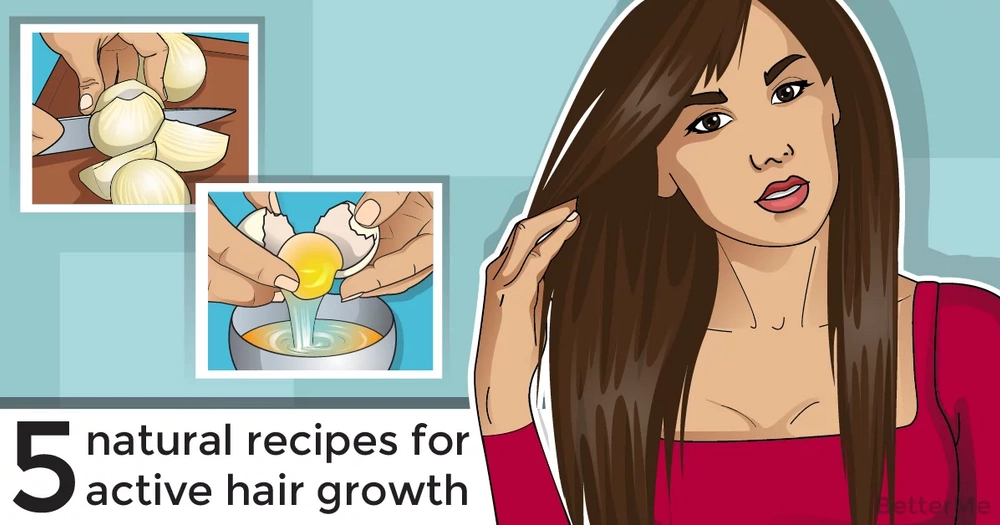 Top 5 recipes to make hair grow faster