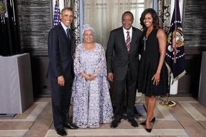 Margret Kenyatta's cutting edge fashion sense ( photos)