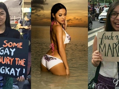 Netizens fire back at Mocha Uson for criticizing the youth who participated in anti-Marcos rallies