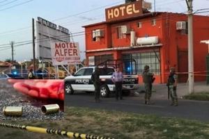 Espantosa masacre en un motel mexicano