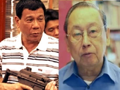 Duterte belittles communists & calls Joma Sison 'arrogant!'