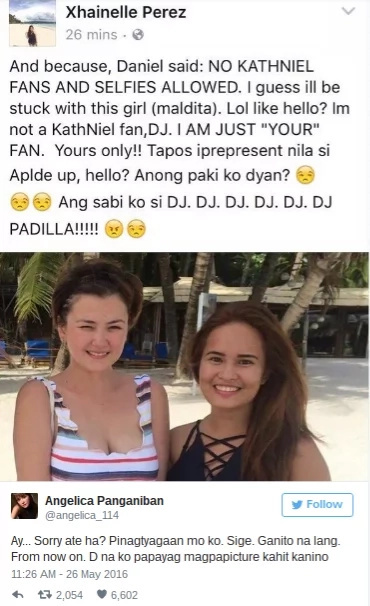 Angelica Panganiban fires back at Kathniel fan; find out why