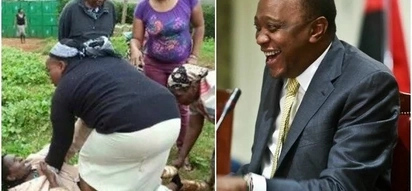 Women from Uhuru's backyard now want the President to save their husbands from drinking menace
