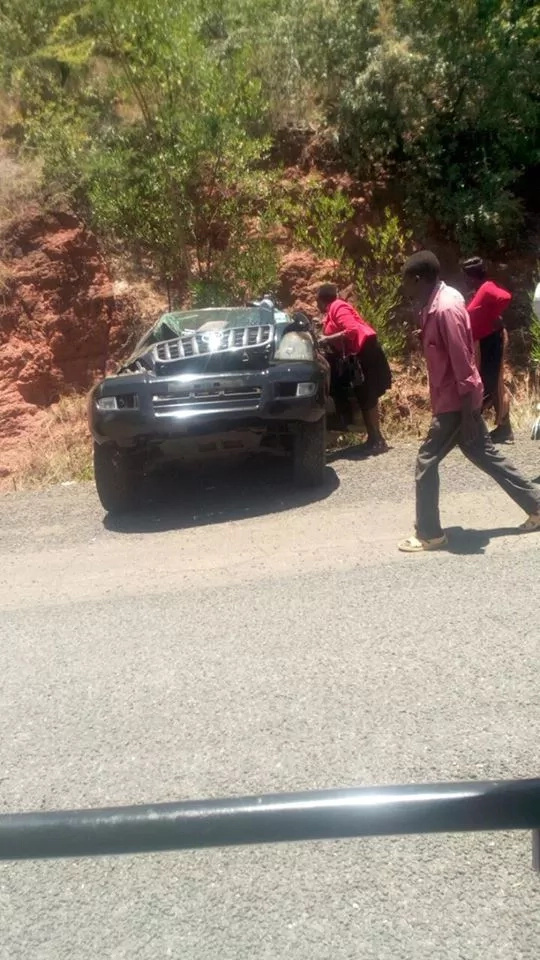 MP involved in accident